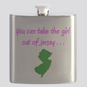 you can take girl out of Jersey pink 2 Flask
