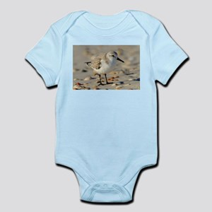 Sand Piper and Seashells Body Suit