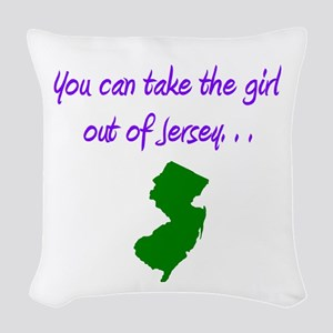 you can take girl out of Jersey purple 2 Woven Thr