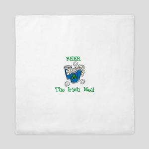 Beer The Irish Meal Queen Duvet