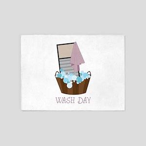 Wash Day 5'x7'Area Rug