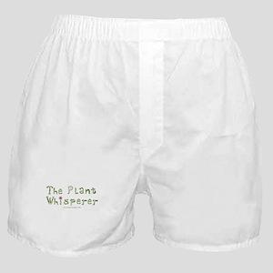 The Plant Whisperer Boxer Shorts