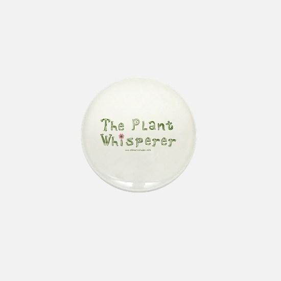 The Plant Whisperer Mini Button