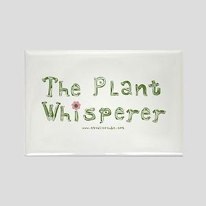 The Plant Whisperer Rectangle Magnet