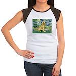 Bridge & Golden Women's Cap Sleeve T-Shirt