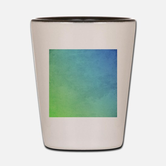 abstract pastel painting Shot Glass