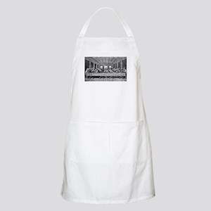 Last Supper Etching BBQ Apron