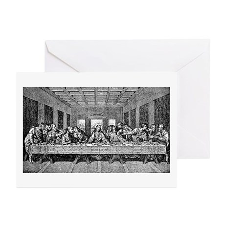 Last Supper Etching Greeting Cards (Pk of 10)