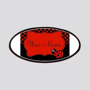Personalizable Ladybug Polk Dots Patches