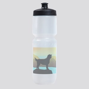 Labradoodle By The Sea Sports Bottle