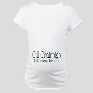 Kilkenny (Gaelic) Maternity T-Shirt
