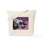 Black Labrador Beauty Sleep Overnight or Tote Bag