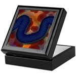 River of Red and Blue Keepsake Box