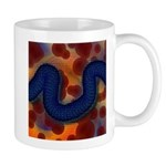 River of Red and Blue Mugs