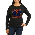River of Red and Blue Long Sleeve T-Shirt