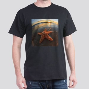 Starfish and Bubbles at Sunset T-Shirt
