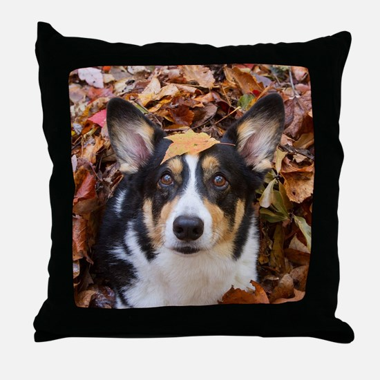 Cool Fall trees Throw Pillow