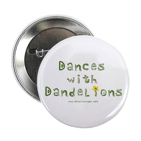 "Dandelion Dancer Gardener 2.25"" Button (100 pack)"