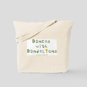 Dandelion Dancer Gardener Tote Bag