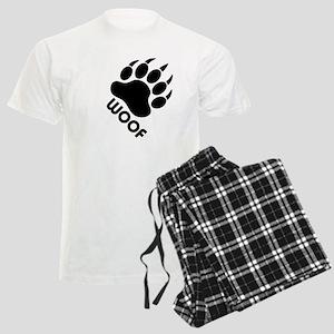 Bear Claw Woof Men's Light Pajamas