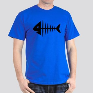 Fishbone skeleton Dark T-Shirt