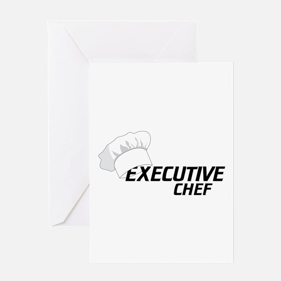 Executive Chef Greeting Cards