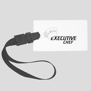 Executive Chef Luggage Tag