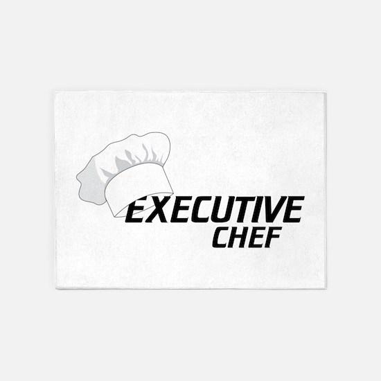 Executive Chef 5'x7'Area Rug