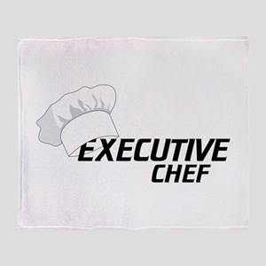 Executive Chef Throw Blanket