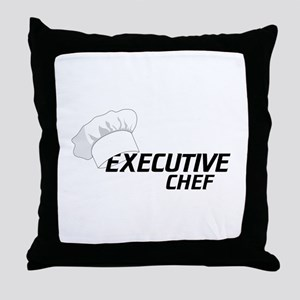 Executive Chef Throw Pillow