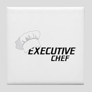 Executive Chef Tile Coaster