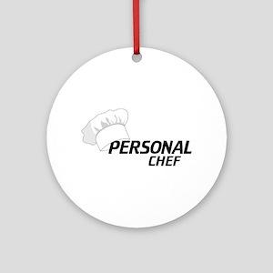 Personal Chef Ornament (Round)