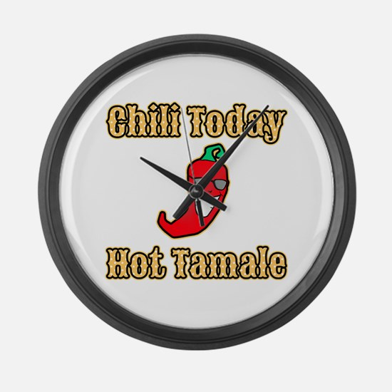 Chili Today Hot Tamale Large Wall Clock