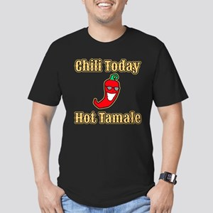 Chili Today Hot Tamale Men's Fitted T-Shirt (dark)