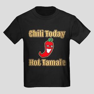Chili Today Hot Tamale Kids Dark T-Shirt