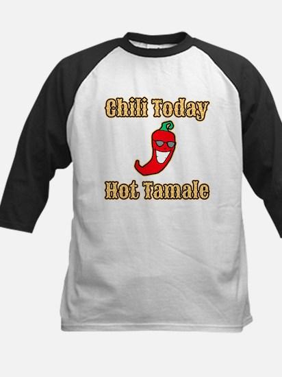 Chili Today Hot Tamale Kids Baseball Jersey
