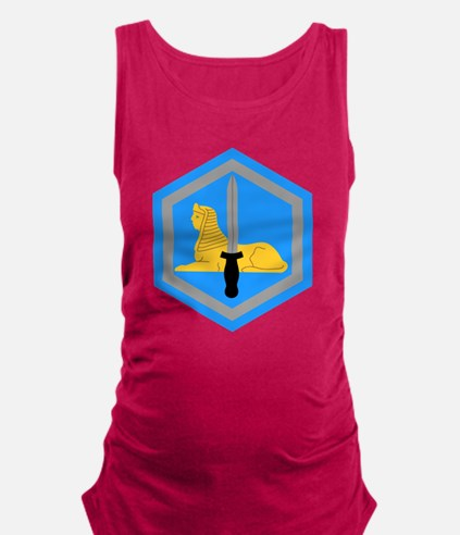 66th Military Intelligence.png Maternity Tank Top