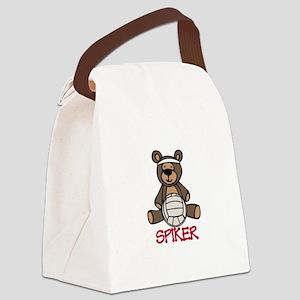 Spiker Canvas Lunch Bag