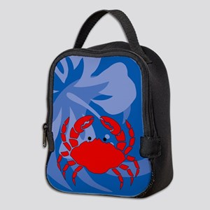 Crab Neoprene Lunch Bag