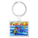 Sea Turtle #8 Landscape Keychain
