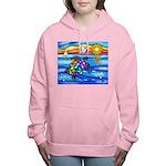 Sea Turtle #8 Women's Hooded Sweatshirt