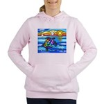 Sea Turtle #8 Women's Hooded Sweatshirt