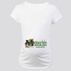 Monaghan Dragon (Gaelic) Maternity T-Shirt