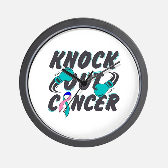 Cute Knock out Wall Clock