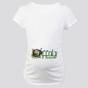 County Offaly Maternity T-Shirt