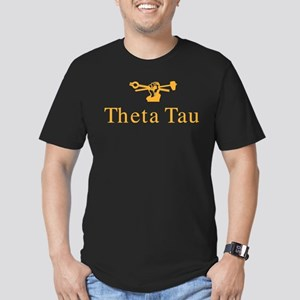Theta Tau Fraternity N Men's Fitted T-Shirt (dark)