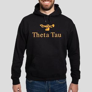 Theta Tau Fraternity Name and Crest Hoodie (dark)