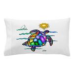 Sea Turtle (nobk) Pillow Case