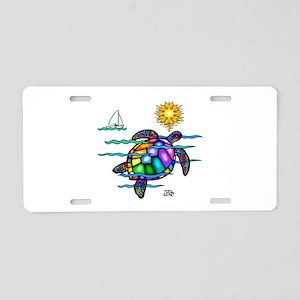 Sea Turtle (nobk) Aluminum License Plate