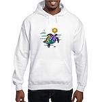 Sea Turtle (nobk) Hooded Sweatshirt